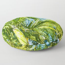 Keanae Palms Maui Hawaii Aloha Floor Pillow