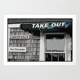 Take Out Art Print