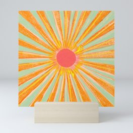 Sun In The Sky 2 Mini Art Print