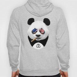 All American Panda Hoody