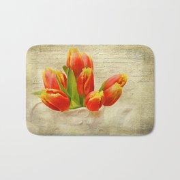 tulipes de ressort Bath Mat