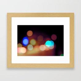 Dots & Colors Framed Art Print