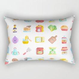 CUTE COOKING PATTERN Rectangular Pillow