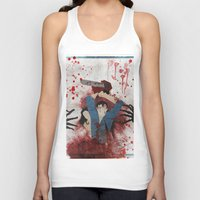 evil Tank Tops featuring Evil by Spectacle Photo
