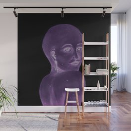 Shoulder Gazer Wall Mural
