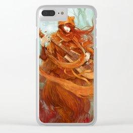 wandering minstrel Clear iPhone Case