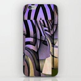 Grammatology Of A Zebra iPhone Skin