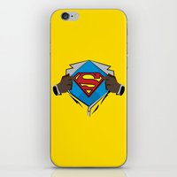 superman iPhone & iPod Skins featuring Superman  by Wave Sports