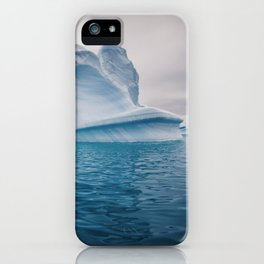 Visions of Blue IV iPhone Case
