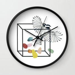 Claustrophobia II Wall Clock