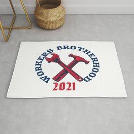 WORKERS  BROTHERHOOD 2021 Rug
