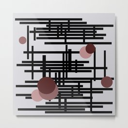 Abstract wall Metal Print