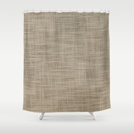 Gunny cloth Shower Curtain