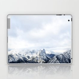 Looking out over the Rockies, in Banff Laptop & iPad Skin