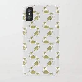 KETTLE PATTERN iPhone Case