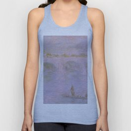 1902-Claude Monet-Waterloo Bridge in London-65 x 100 Unisex Tank Top