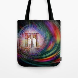 Our world is a magic - Time Tunnel 101 Tote Bag