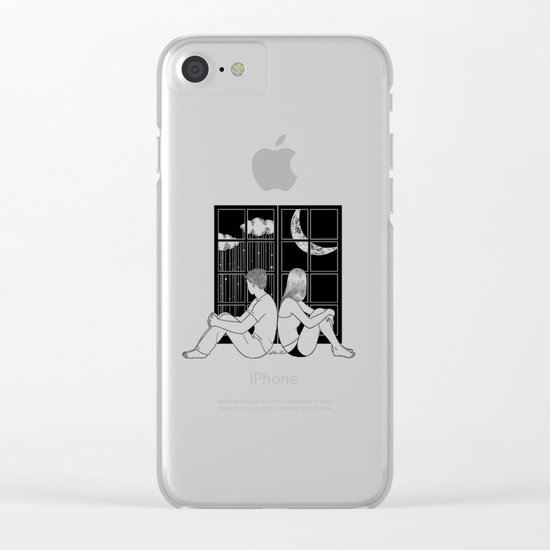 Nothing in Common Clear iPhone Case