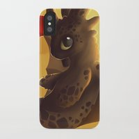 toothless iPhone & iPod Cases featuring Toothless! by NezuPanda