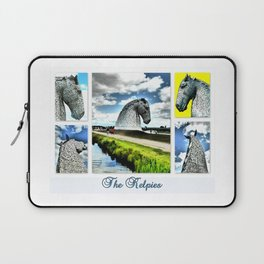 The Kelpies At The Millenium Link Laptop Sleeve