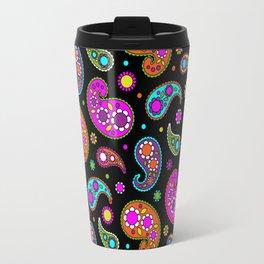 Paisleys and Flowers Travel Mug