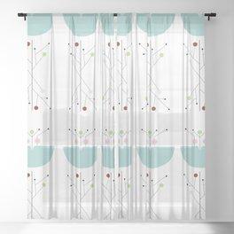 Fresh New World Sheer Curtain