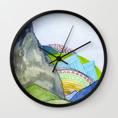 Landscapes / Nr. 6 Wall Clock