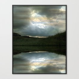 Every Cloud Has a Silver Lining Canvas Print