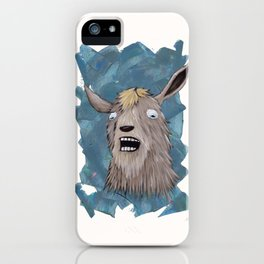 Goats That Scream Like People iPhone Case