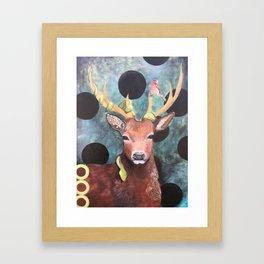 Animal Friends Framed Art Print