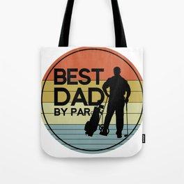 Golf Best Dad Tote Bag