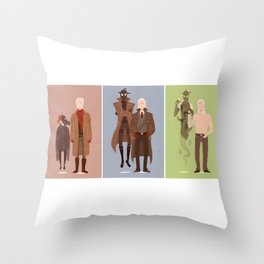 MGS Through the Years Throw Pillow