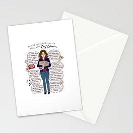Liz Lemon Friend Dates Stationery Cards