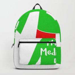Matching Christmas Shirts Meditation Elf Backpack