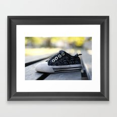 The Lonely Shoe Framed Art Print