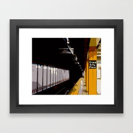 Grand Army Plaza Subway Station Framed Art Print