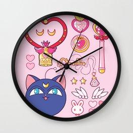 Small Lady Starter Kit  Wall Clock