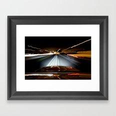 Road Rage Framed Art Print