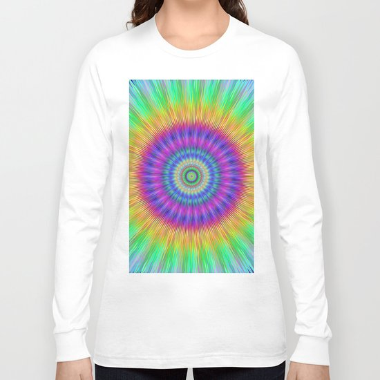 Colorful explosion Long Sleeve T-shirt