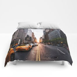 Manhattanhenge, 2018.05.30 Comforters