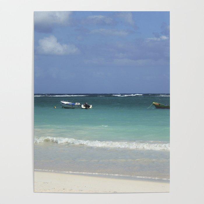 Carribean sea 12 Poster