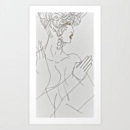 Zeke Woman Art Print