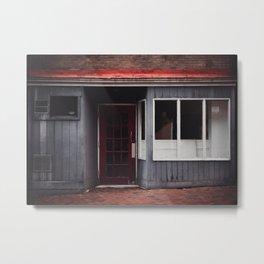 Forgotten Street Shop Metal Print