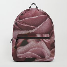 Dewy Blush Roses Backpack