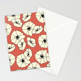 Retro bloom 004 Stationery Cards