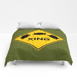 Sheep XING Olive Comforters