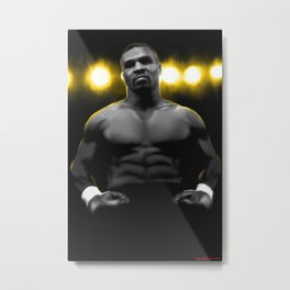 IRON MIKE TYSON Metal Print