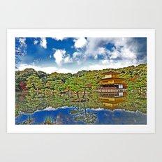 Serenity in Japan Art Print