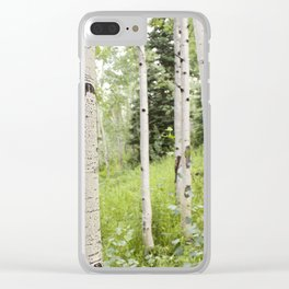 Silverthorne Clear iPhone Case