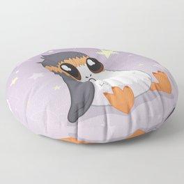 Space Puffin Cutie Floor Pillow